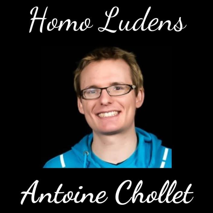 Homo Ludens - Antoine Chollet – Développer des compétences managériales avec les jeux vidéo