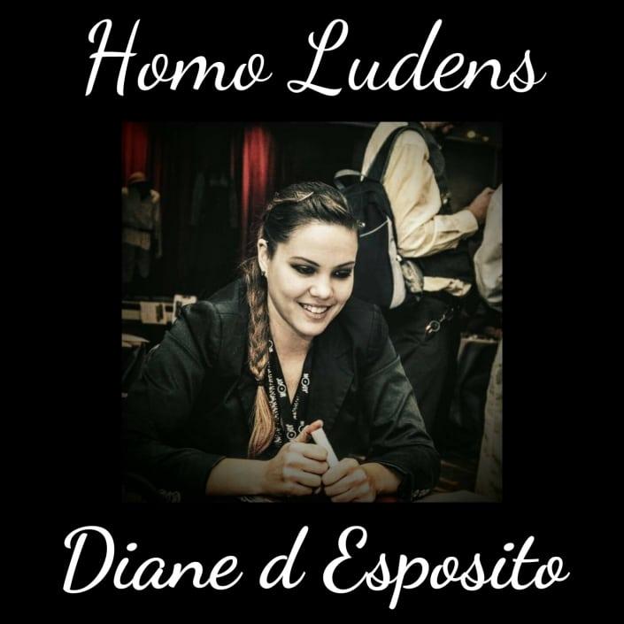 Homo Ludens - Diane d'Esposito - Le jeu de rôle grandeur nature