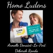 Homo Ludens - Armelle Donaint Le Port et Déborah Randa - Ludik'RH : le droit social en jeu!