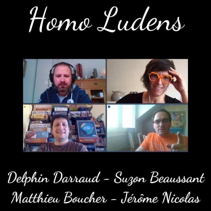 Homoludens - Suzon Beaussant – Delphin Darraud – Matthieu Boucher – Jérôme Nicolas – Codroïd 19 : le jeu pour tout comprendre sur le Covid 19