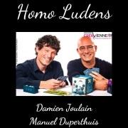 Homo Ludens - Manuel Duperthuis et Damien Joulain - Les entretiens avec l'écrin Kivoipluloin