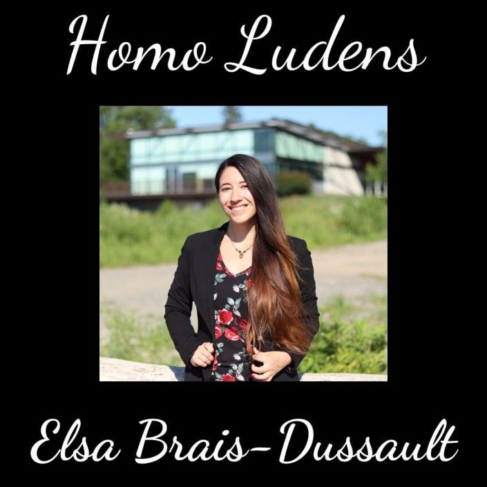 Homo Ludens - Elsa Brais-Dussault - Jouer pour plus de bien-être et moins d'anxiété