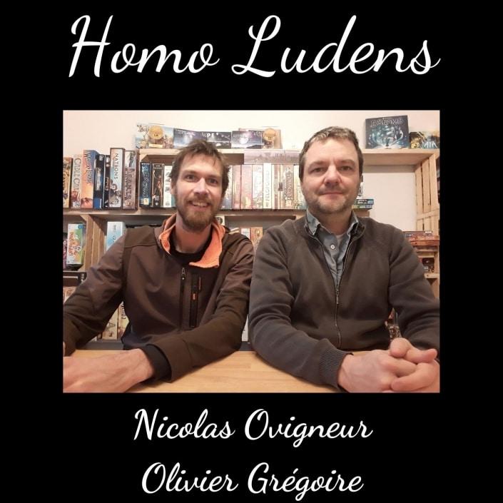 Homo Ludens - Nicolas Ovigneur et Olivier Grégoire - Les plaisirs de jeu