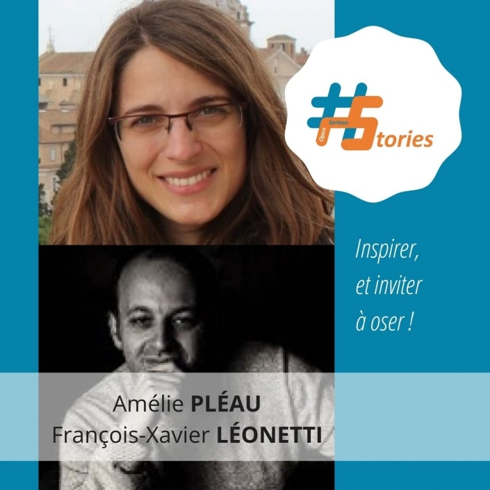 #OpenSeriousStories - Niveau 6 - Amélie Pléau et François-Xavier Léonetti