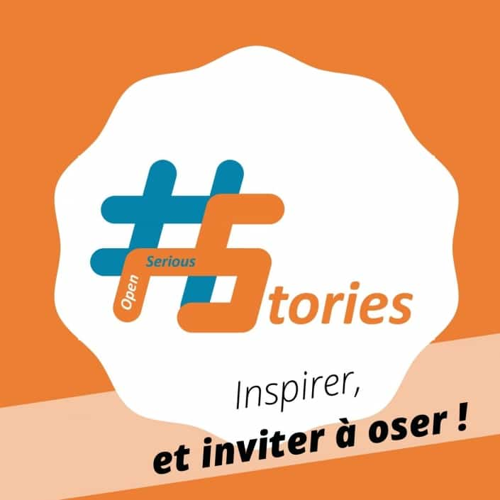Le podcast #OpenSeriousStories