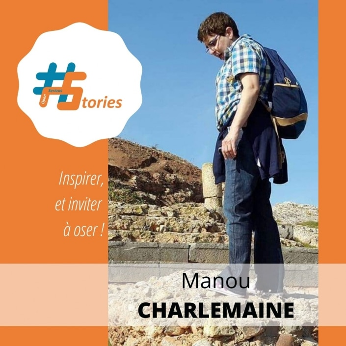 #OpenSeriousStories – Niveau 2 Joueuse – Manou Charlemaine